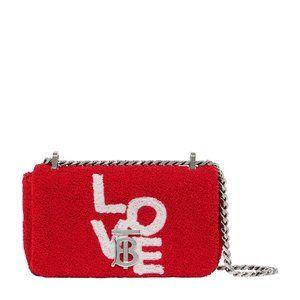 Burberry Mini 'Lola' Love TB Logo Shoulder Bag NEW